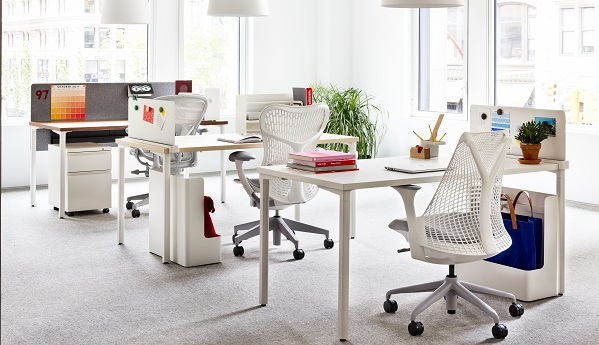 Herman Miller Offers A High Touch Experience To Consumers Who Purchase Office  Furniture Like This Online.