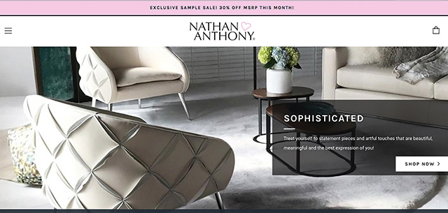 Nathan Anthony Launches Site To Show Samples
