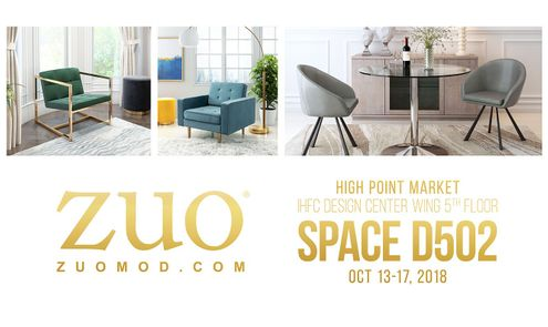 Zuo Shares Its Luxe Look For Fall 2018 High Point Market Gifts