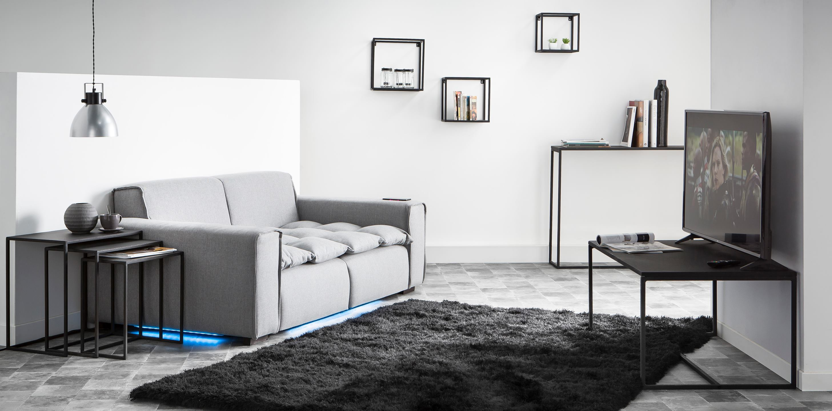 Miliboo introduces Smart Sofa at CES in Las Vegas | Furniture Today