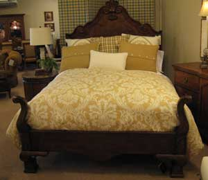The Town U0026 Country Bed By Century Furniture Has French Design Influences.  Retailing At $4,995