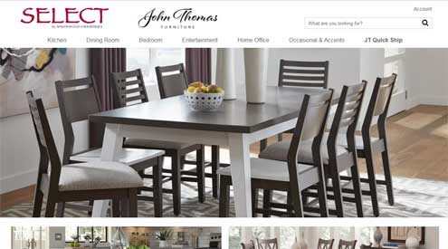 John Thomas Furniture Launches New Website With Microd Casual Living