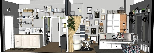 ikea to open nyc planning studio home accents today. Black Bedroom Furniture Sets. Home Design Ideas