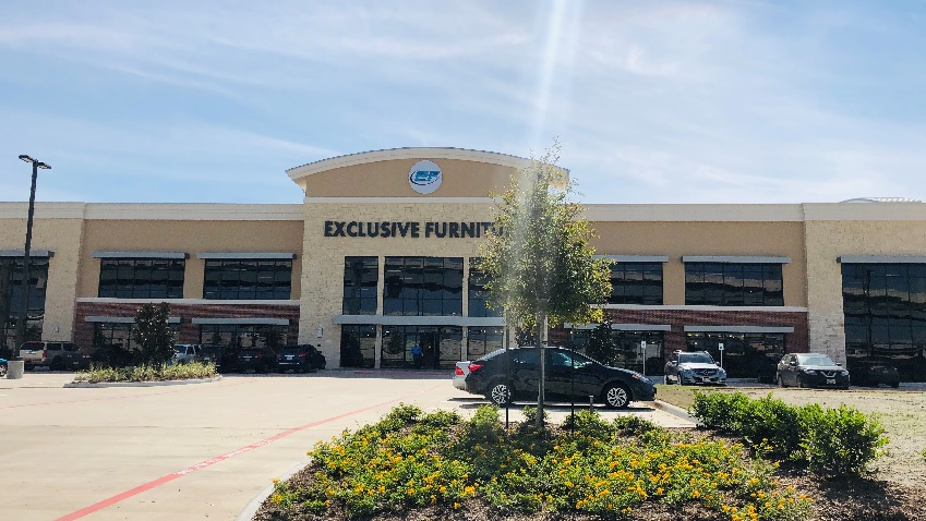 exclusive furniture opens webster texas store