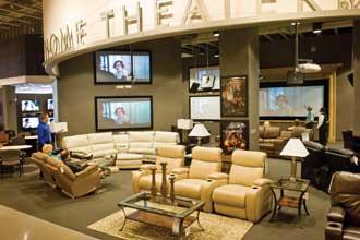 Nebraska Furniture Mart Store Opens Big Electronics Area