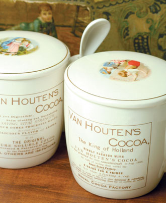 Van Houten Dutch Cocoa Mug From Victorian Trading Co.