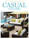 Casual Living cover for January 2013