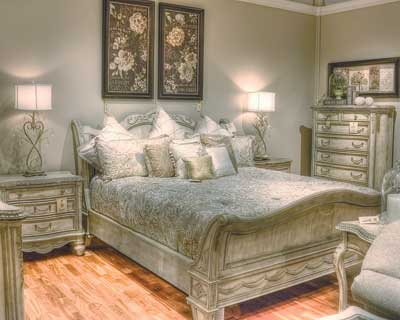 This French Inspired Bedroom From Schnadigu0027s Empire Collection Had Sold  Multiple Times, Even Before