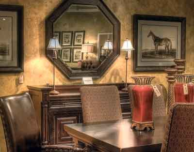 A Tommy Bahama Kingstown Dining Room Setting By Lexington Home Brands Is  Featured In The 2,500