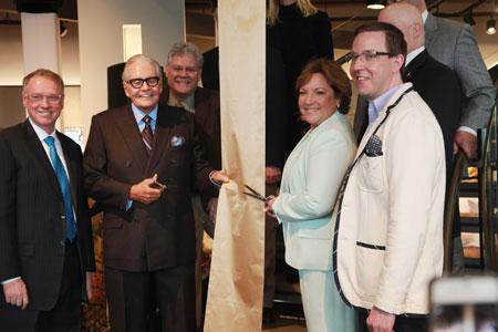Kim Yost, Left, And Art Van Elslander, Art Van Furniture, Warren,