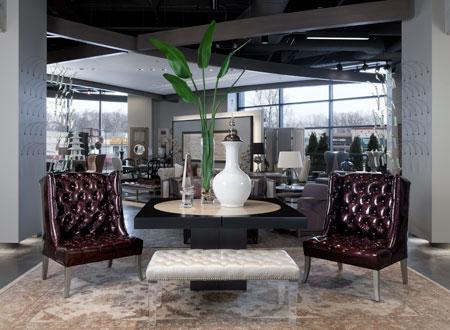 Art Van Furnitures Scott Shuptrine Interiors Flagship Store