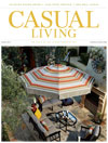 Casual Living cover for April 2013