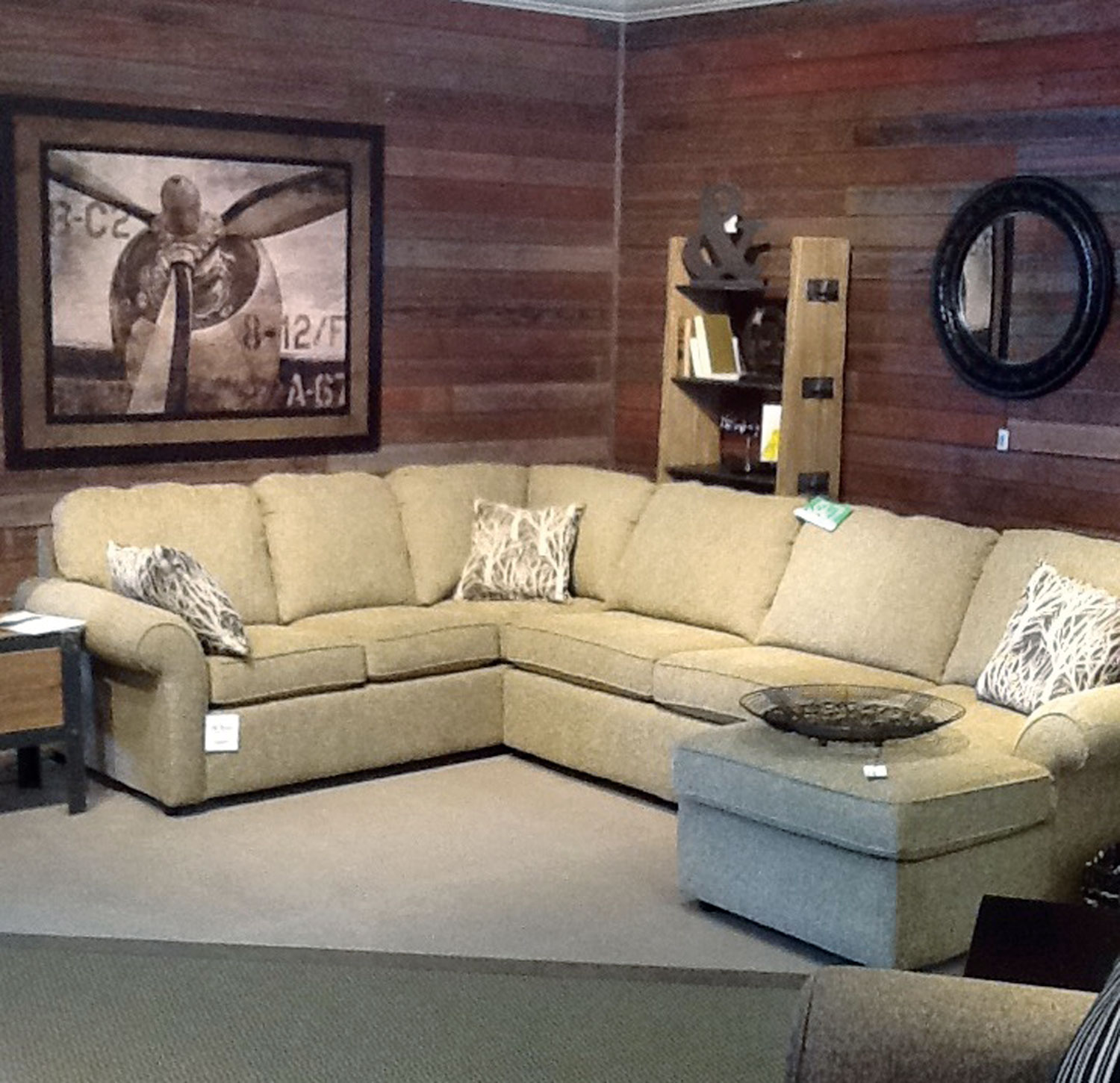 England Upholstery Gets Prominent Display In A Gallery Within The Watertown  Store.