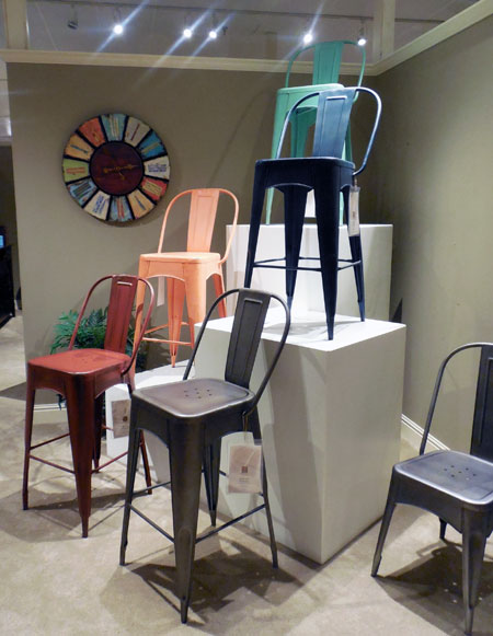 The Rustic Collectibles Group By Largo Includes Five Colors For Barstools  And Chairs.