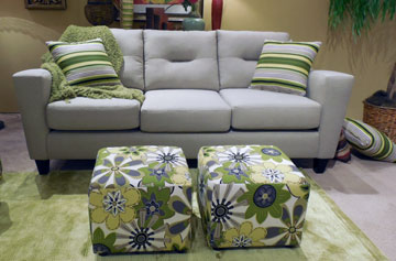 Solid Neutrals Paired With Brights Allow Retailers To Enliven Showroom  Floors With Color Splashes, As