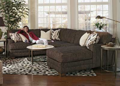 Flexsteelu0027s sectional from the Thatu0027s My Style collection offers several customization options. .flexsteel : flexsteel sectional sofas - Sectionals, Sofas & Couches